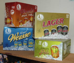 Delicious cans in beautiful 12-pack cartons!